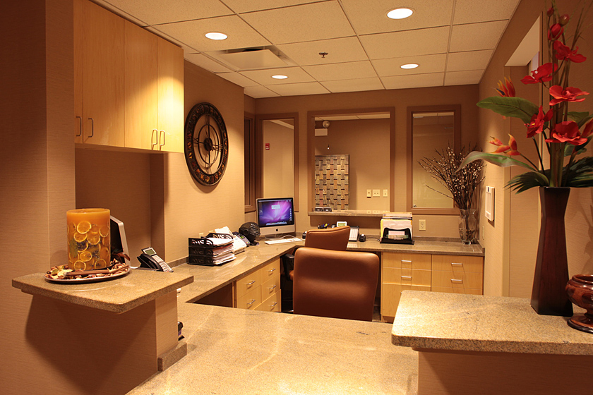 Urology Clinic and Surgery Center Photo 2 - Granite Work Surfaces