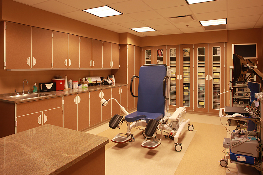 Urology Clinic and Surgery Center Photo 4 - Treatment Room, Medical Supply Storage, Granite Medical Surfaces